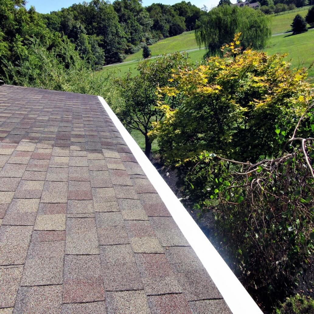 completed-gutter-with-the-water-fall-system