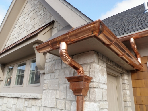 copper gutters 1